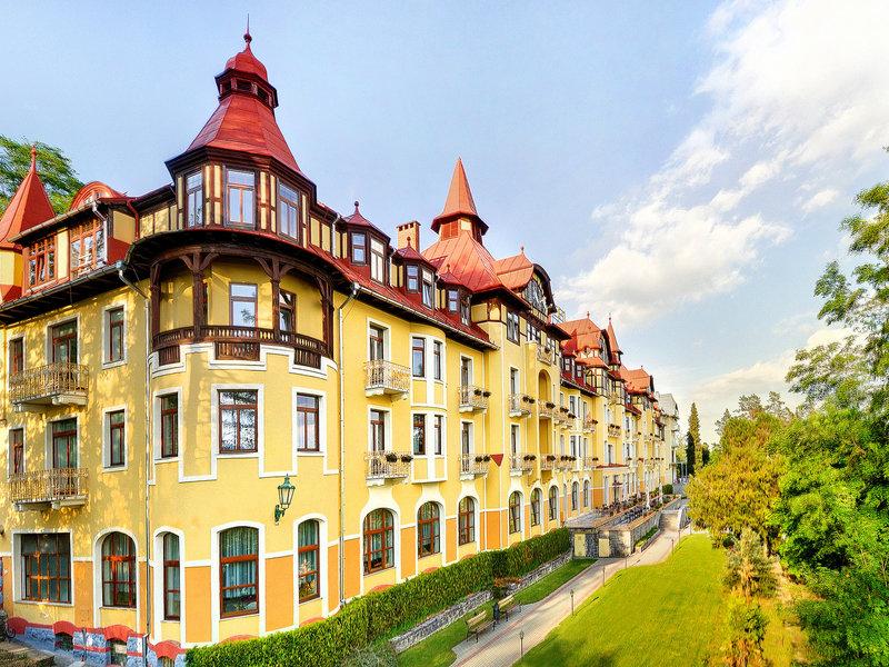 Hotel Grandhotel Praha Slowakei